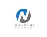 N Letter Logo Template symbols icons
