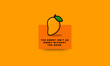 The sweet isn't as sweet without the sour Quote Poster Design with Mango illustration - 244867567