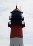 Westerhever lighthouse closeup to the top