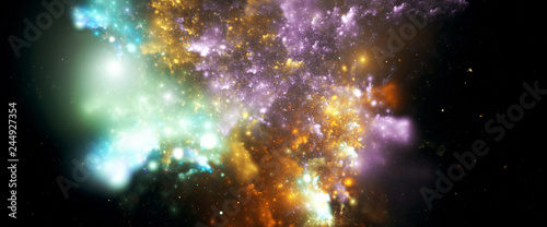 Beautiful Galaxy Fantasy Wallpaper