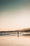 Fototapeta Zachód słońca - portrait of a fisherman in trancoso © luis