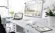 office responsive devices interior design - 245001181