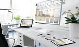 office responsive devices interior design