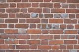 red rectangle brick wall or masonry or tessellation - 245023562