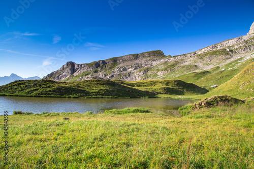 Leinwandbild Motiv Lac de Peyre