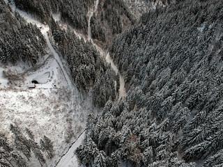 Winter in Styria, Austria