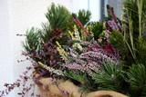 Balkonbepflanzung im Herbst und Winter - 245047775