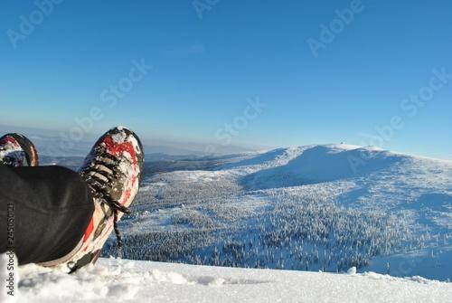 Pejzaż zimowy - Karkonosze