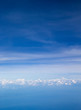 Clouds, a view from airplane window - 245081144
