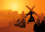 The Women of Jerusalem Mourn for Jesus