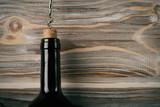 bottle of wine open up