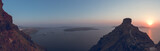 Fototapeta Zachód słońca - Santorini panorama © Aurlien