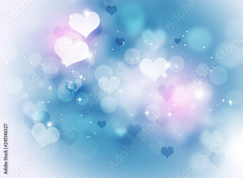 Valentine Bright Background - 245146327