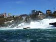 The Rhine Falls or Rheinfall waterfall, Neuhausen am Rheinfall - Canton of Schaffhausen, Switzerland