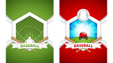 Fototapeta Sport - Baseball posters © gigello