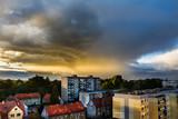 Fototapeta Fototapety na sufit - Piękne niebo nad mistem © FredanFoto