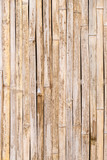 Grunge and weathered traditional exotic bamboo wall background