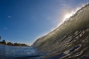 vague tahitienne