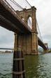Brooklyn Bridge in Overcast