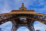 Fototapeta Fototapety z wieżą Eiffla - Eiffel Tower from Below © Agent007