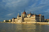 Hungarian Parliament Building from the side, Budapest, Hungary - 245387722