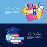 education supplies school - 245389969