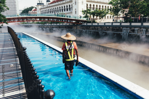 Cleaner walk along the river of life in Kuala Lumpur