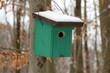 Leinwanddruck Bild - Tierschutz im Wald