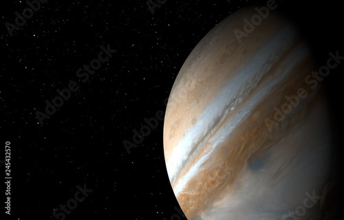 Jupiter - High resolution 3D images © serawood