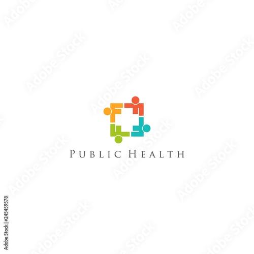 Public Health Logo Design Vector Buy Photos Ap Images Detailview