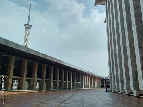 Corridor Of Masjid Istiqlal Jakarta Indonesia Buy Photos Ap