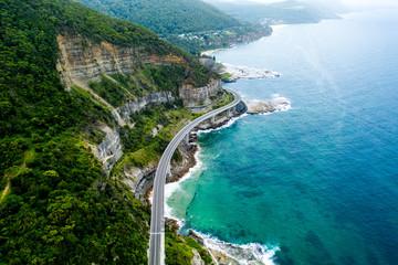 Seacliff Bridge, New South Wales Coastline © Aaron