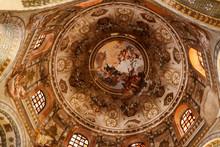 "Постер, картина, фотообои ""Свод базилики Сан-Витале в Равенне"""