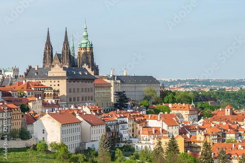 fototapeta na ścianę Prague Castle spring view