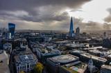 Fototapeta London - View of London form St Paul's Cathedral dome © Konrad