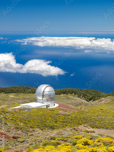 Telescope in the Roque de los muchachos in the Canary Islands - 245704100