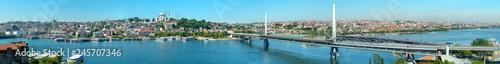 Panorama Istanbul Turkey - 245707346