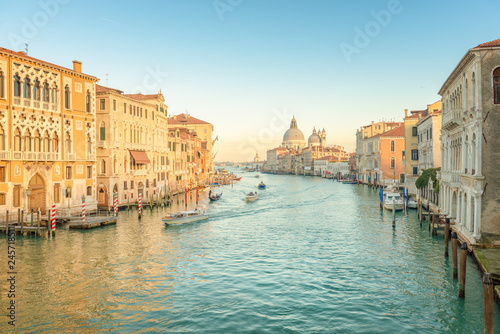Sunset at the Grand Canal, Venice - Italy