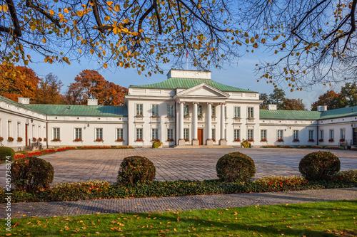Fototapety, obrazy : Belweder Palace in Warsaw