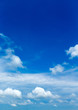 blue sky background with tiny clouds - 245744999