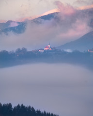 church in the hills © David