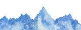 ridge of mountains