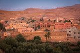 View of old village called Ait Ben Haddou, the place where lots of succesful movies was made. Morocco - 245776954