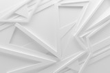 white light 3d graphics background illustration pattern. abstract blank with copy space.
