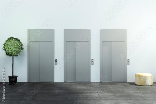 Leinwandbild Motiv Modern office interior
