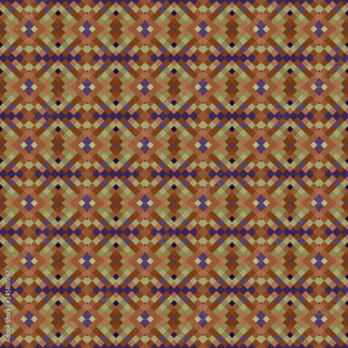Seamless pattern background from a variety of multicolored squares. - 245801767