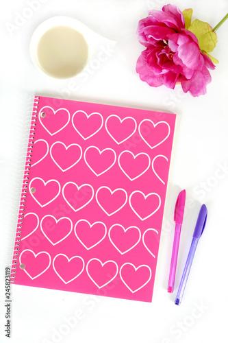 Hearts notebook - 245823119