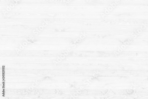 White wooden surface backdrop top view - 245829312