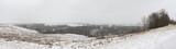 Panorama of eastern Ohio countryside - 245870136