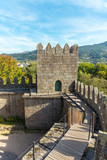 The Castle of Guimarães in the north of Portugal - 245877979
